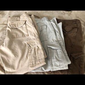 Bundle old navy cargo pants